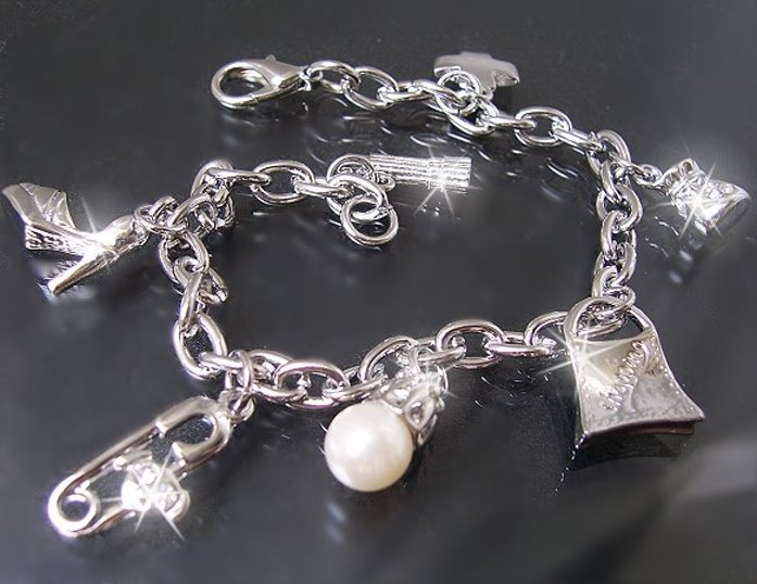 Bettelarmband Silber Charms
