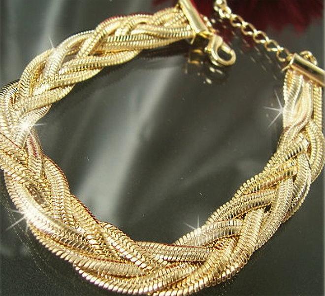 modeschmuck armband gold
