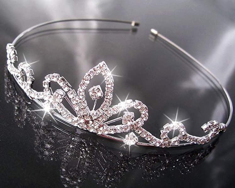 H1407# Brautschmuck Diadem Tiara Krone