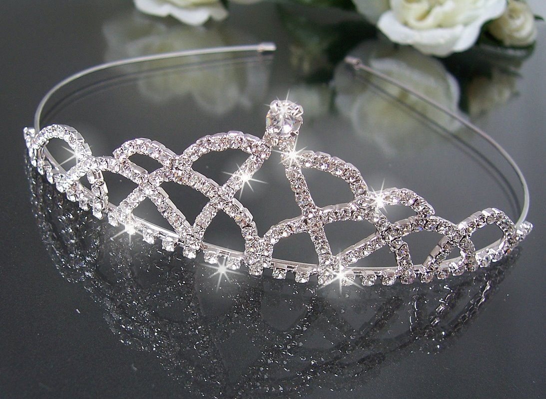 Brautschmuck Haarschmuck Hochzeit Diadem Tiara