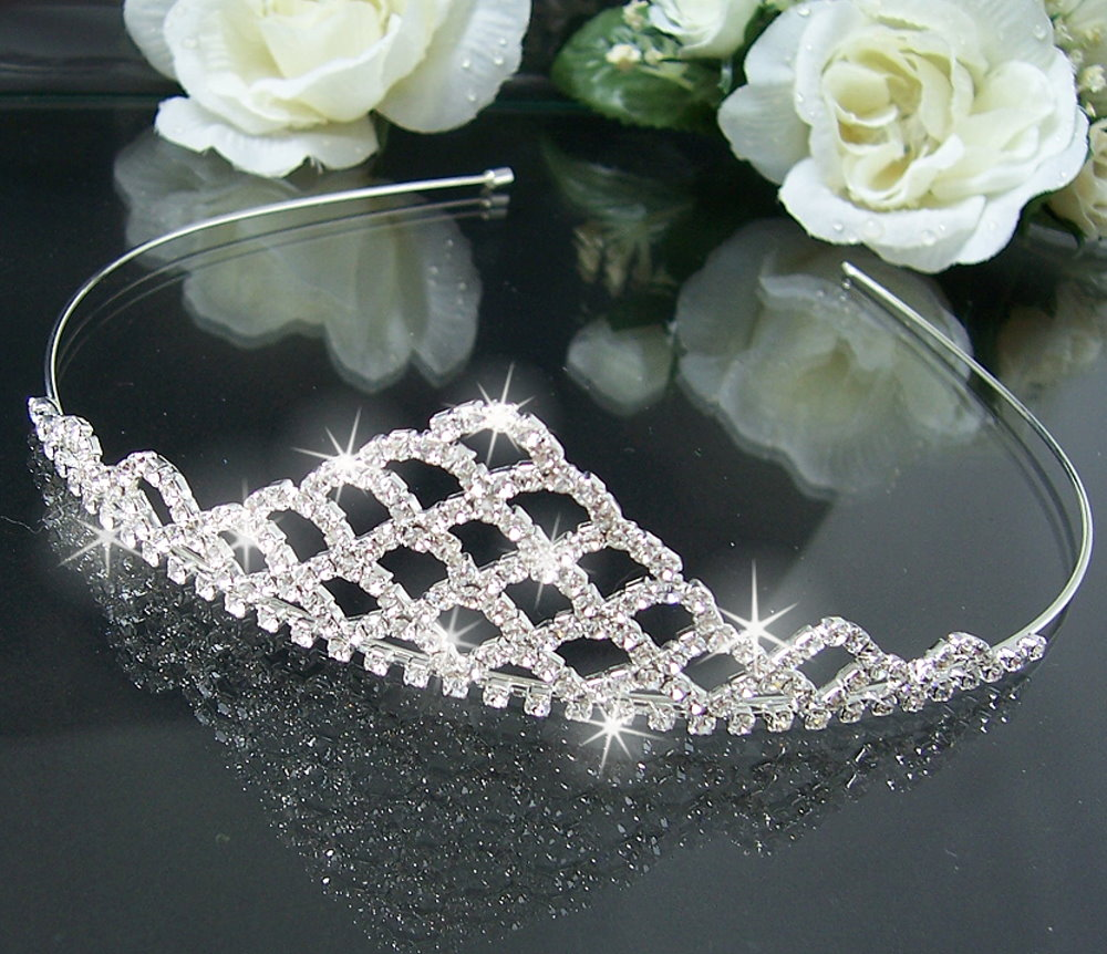 H2420#+ Brautschmuck Haarschmuck Hochzeit Diadem Tiara