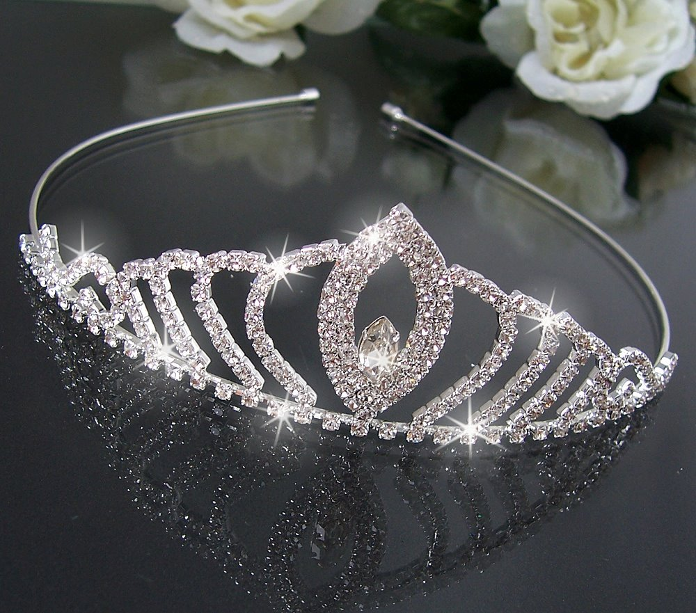 H2421#+ Brautschmuck Haarschmuck Hochzeit Diadem Tiara