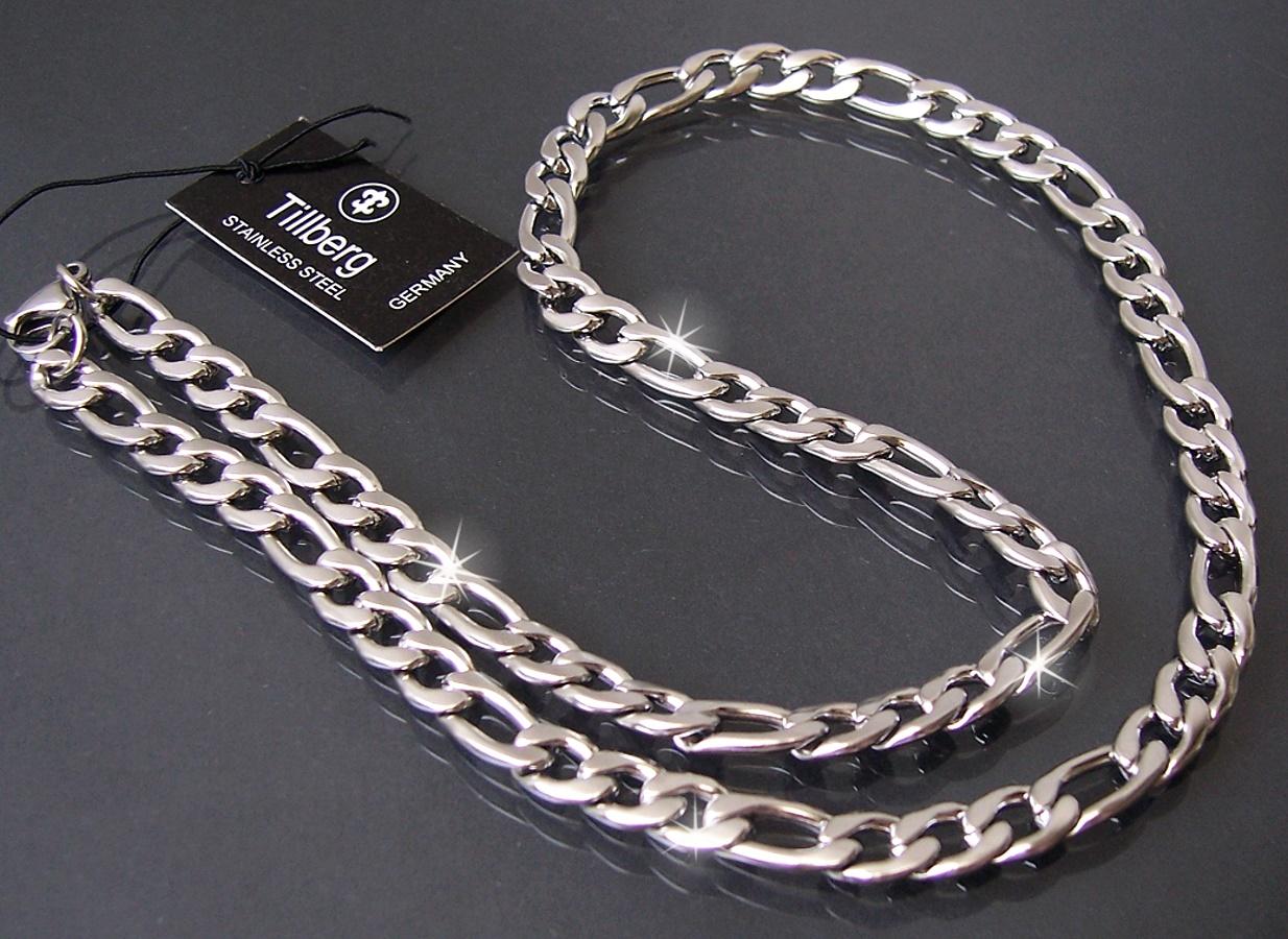 silberschmuck 925er silber panzerketten armketten figaro. Black Bedroom Furniture Sets. Home Design Ideas