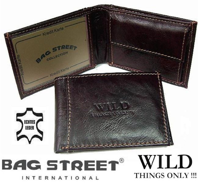Herren-Portemonnaie-echt-Leder-Rindleder-Geldboerse-Geldbeutel-Brieftasche-NeuPV1