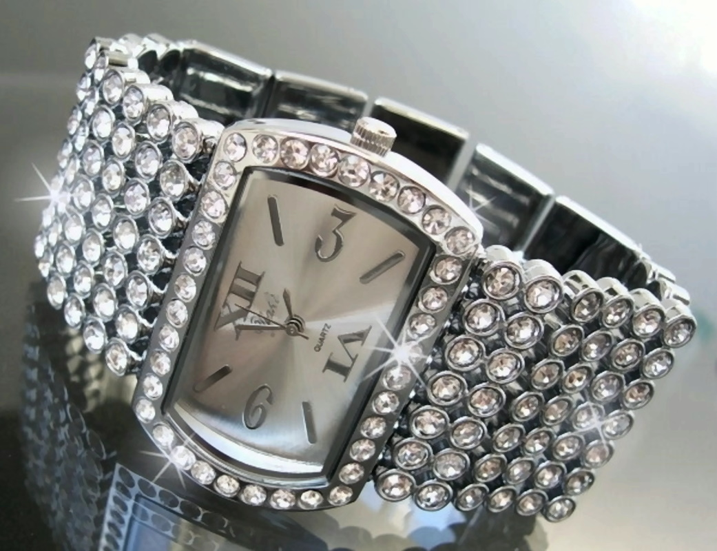 vu1 damenuhr uhr armbanduhr luxus uhren mode quarzuhr strass gliederarmband. Black Bedroom Furniture Sets. Home Design Ideas