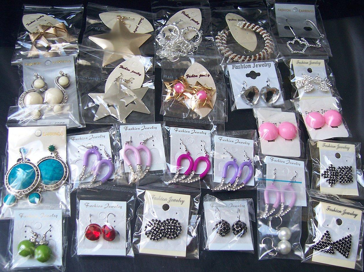Sonderposten Modeschmuck Restposten Ketten Ohrringe Armbänder Schmuck Posten VY1