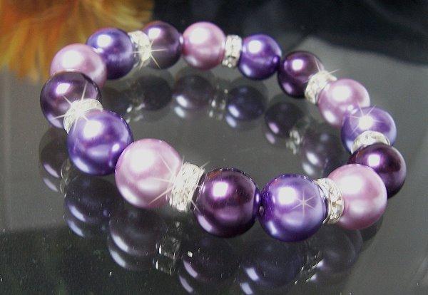 Modeschmuck armband perlen  Kette Perlenkette Halskette Perlen Modeschmuck Armband Wickelkette ...