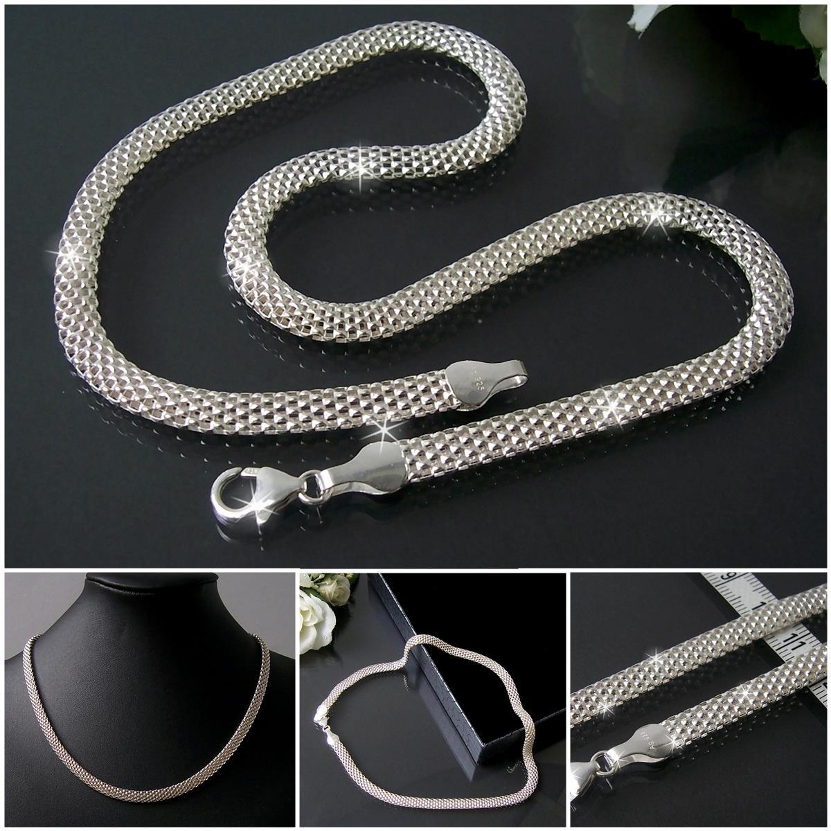 niklarson echt 925 silberschmuck kette armband sterling. Black Bedroom Furniture Sets. Home Design Ideas