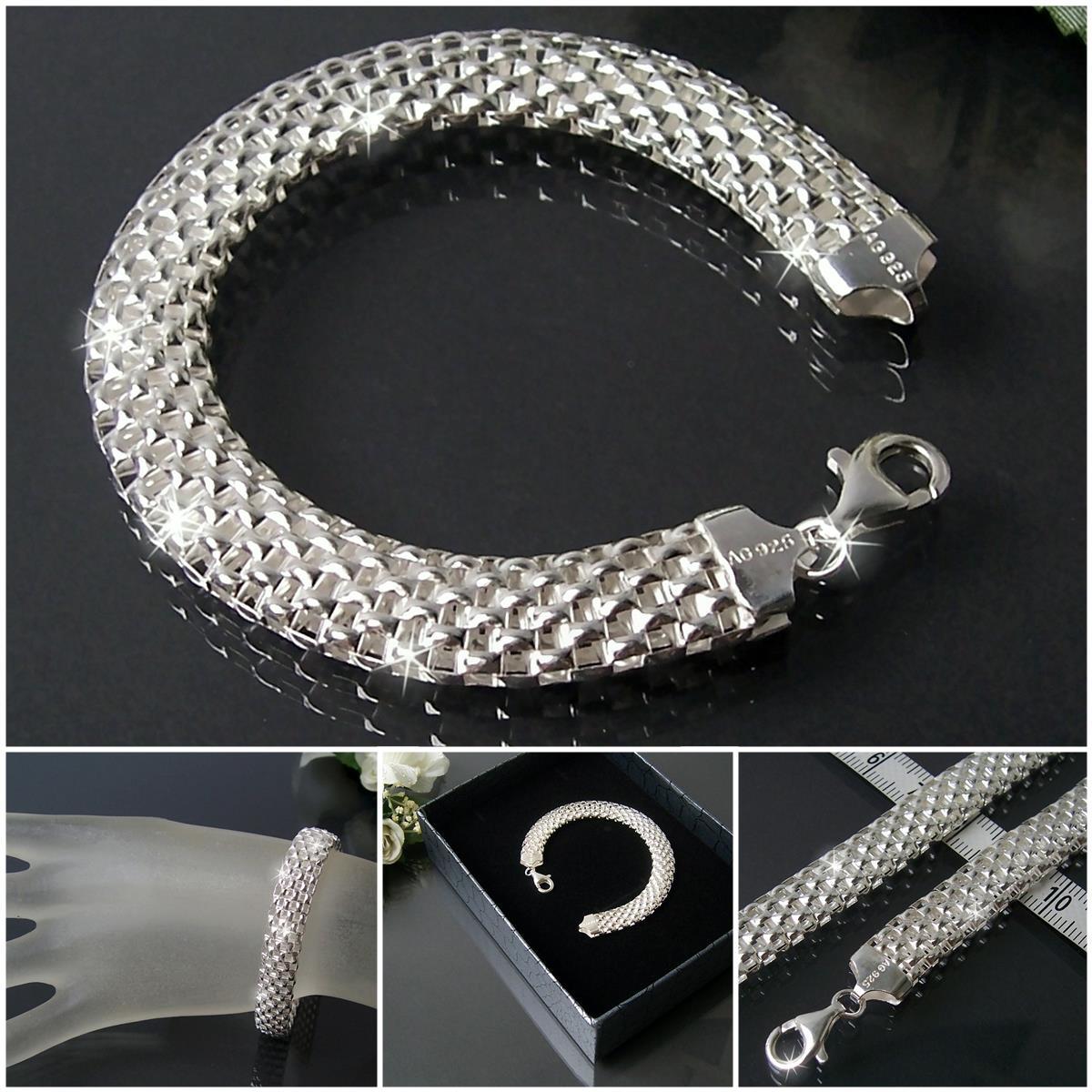 Niklarson-echt-925-Silberschmuck-Kette-Armband-Sterling-Silber-Schmuck-neu-VE10