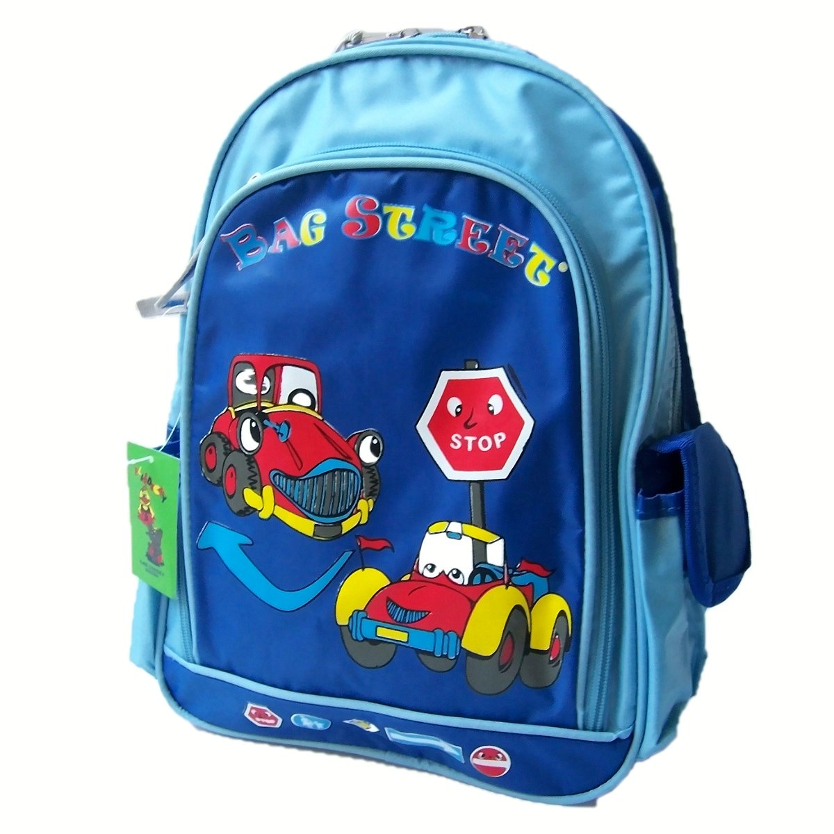 rucksack kinder freizeit kindergarten jungen blau hellblau ru8028. Black Bedroom Furniture Sets. Home Design Ideas
